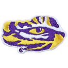 Louisiana State Tigers LSU Tiger Eye Logo Embroidery Iron On Patch Hat Football