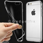 "0.3mm Ultra Thin Semi Transparent Clear Soft Gel Case for 4.7"" iPhone 6 6S Plus"