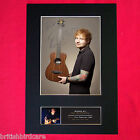 ED SHEERAN No3 Signed Autograph Mounted Photo REPRODUCTION PRINT A4 400