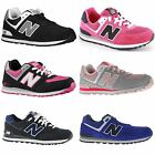 New Balance 574 Classics Traditionnels Leather Youth Trainers