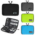 Digital USB Canvas Cable Earphone Travel Insert Storage Organizer Bag Case Hot