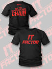 TNA IMPACT WRESTLING BOBBY ROODE Off The Chain It Factor T-SHIRT NEU