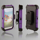 Belt Clip Bumper Protector Screen Soft Silicon Hard Holster Skin Case Cover