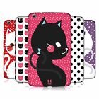 HEAD CASE DESIGNS CATS AND DOTS HARD BACK CASE FOR SAMSUNG TABLETS 2