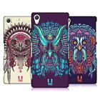 HEAD CASE DESIGNS ETHNIC OWLS HARD BACK CASE FOR SONY PHONES 2