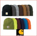 Carhartt A18 WATCH HAT - Knit Beanie Cap Colors One Size - BROWN NAVY ARMY GREEN