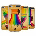 HEAD CASE DESIGNS COLOUR DRIPS SOFT GEL CASE FOR APPLE iPOD TOUCH MP3