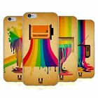 HEAD CASE DESIGNS COLOUR DRIPS SOFT GEL CASE FOR APPLE iPHONE PHONES
