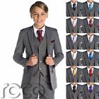 Boys Grey Suit, Grey Page Boy Suits, Boys Wedding Outfit, Grey Suit, Boys Suits