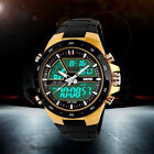 GPE HoT Sale Led Waterproof Multifunction Analog-Digital Sport Military Watch