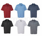 ADIDAS GOLF - Puremotion Stretch Polo, Men's S-3XL, Stripe Jersey Sport Shirt
