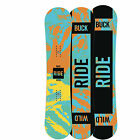 Ride Kids Snowboard - Lil Buck Youth All-Mountain Freestyle Lowrise Camber- 2016