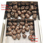 20PCS Solid Metal Buddha Head Bracele & Necklace Connector Charm Beads