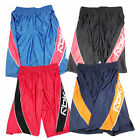Reebok Mens Dazzle Side Panel Classic Styled Baggy Athletic Basketball Shorts
