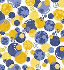 SASSY 24207 Z  QT 100% Cotton Fabric priced by the 1/2 yard