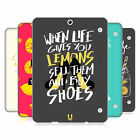 HEAD CASE DESIGNS LIFE AND LEMONS SOFT GEL CASE FOR SAMSUNG GALAXY TAB S2 9.7