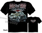 40 Willys T Shirt 1940 Hot Rod Clothes Solo Speed Shop Gasser Automotive Shirts