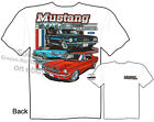 65 66 Mustang T Shirt 1965 1966 Ford T Shirt Automotive Shirts Ponycar Clothing