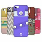 HEAD CASE DESIGNS BUTTON PURSE HARD BACK CASE FOR APPLE iPHONE 5C
