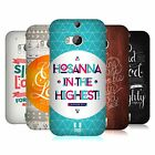 HEAD CASE DESIGNS FAMOUS BIBLE VERSES HARD BACK CASE FOR HTC ONE M8
