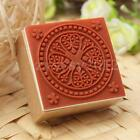 Retro Wooden Rubber Stamp Seal Scrapbooking Diary Card DIY Craft Wedding Gift