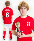 Bobby Moore England 1966 Football Fancy Dress Costume Ideal For Stag Do