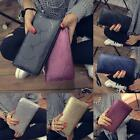 Fashion Lady Women Leather Clutch Wallet Long Card Holder Case Purse Handbag uf