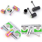 Powerful Vibrating Steel Tongue Ring Piercing Bar Barbell Body Piercing Jewelry