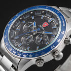 Nurse Shark 2nd Generation Chronograph 24 Hours Mens Stainless Steel Wrist Watch