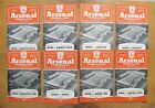 ARSENAL Home League & FA Cup Football Programmes 1955/1956 *All VG Condition*
