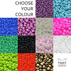 20g Glass Seed Beads Opaque 8/0 Approx 3mm for Jewellery Making and Craft