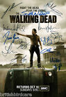 THE WALKING DEAD Autograph POSTER Signed by 13 of Cast Ultra Rare Quality Print