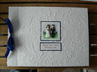 Personalised Handmade Wedding Guest Book - Fimo Bride and Groom