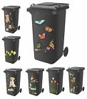 Decorative Wheelie Bin Self Adhesive Stickers Dustbin Caravan Household Items
