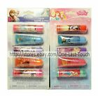 *TOWNLEY* 5pc Lip Set DISNEY Balm+Squeezy Gloss GLITTER (Carded) *YOU CHOOSE*