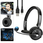 Bluetooth Headphones Earphones Over Ear Mic Stereo Headset Noise Cancelling IPX5