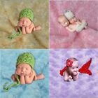 Newborn Baby Photography Photo Props Backdrop Plush Blanket rug Rose Flower