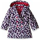 London Fog Toddler Girls Floral Enhanced Radiance Trench Coat Size 2T 3T 4T