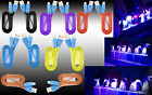 Premium Smiley LED Heavy Duty Data Sync Charging Flat Cable Cord  For New Phones