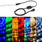 "LED Rope Light 1/2"" Thick PRE-ASSEMBLED Christmas Lighting 10' 25' 50' 100' 150'"