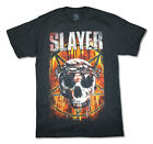 Slayer Thorny Skull Crown World Tour 2015 Black T Shirt New Official Band Merch image