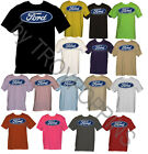 1-FORD LOGO ONLY TRUCK CAR SHOW APPAREL WEAR GEAR T-SHIRT GRAPHIC PRINTED TEE