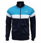 Fila Men's Lecce Retro Track Top Tracksuit Jacket French Blue