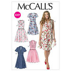 McCall's 6503 OOP Paper Sewing Pattern to MAKE Pullover Dress Sleeve Variations