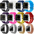 Silicone Sport Watch Band Strap Milanese Magnetic Watchband for Fitbit Blaze New