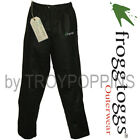 BULL-FROGG TOGGS RAIN GEAR-PS83172-01 BLACK PANTS SIGNATURE75 FISHING GOLF WET
