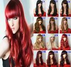 "23"" Wavy Natural Wig Stunning Full Head Wigs Party Hair Women Wig Heat Resistant"