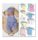 Butterick 5585 Sewing Pattern to MAKE Stretch Infant Babygro Sewing Bee 2016
