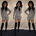 Womens Cable Knit Pattern Jumper Dress with Turtle Neck & Long Sleeves