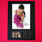 LILY ALLEN Autograph Mounted Signed Photo RE-PRINT Print A4 226